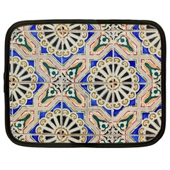 Ceramic Portugal Tiles Wall Netbook Case (large)