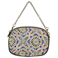 Ceramic Portugal Tiles Wall Chain Purses (two Sides)