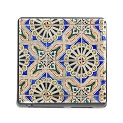 Ceramic Portugal Tiles Wall Memory Card Reader (square)