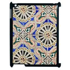 Ceramic Portugal Tiles Wall Apple Ipad 2 Case (black)