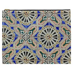 Ceramic Portugal Tiles Wall Cosmetic Bag (xxxl)