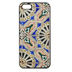 Ceramic Portugal Tiles Wall Apple Iphone 5 Seamless Case (black)