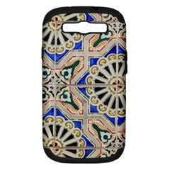 Ceramic Portugal Tiles Wall Samsung Galaxy S Iii Hardshell Case (pc+silicone)