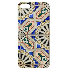 Ceramic Portugal Tiles Wall Apple Iphone 5 Hardshell Case With Stand