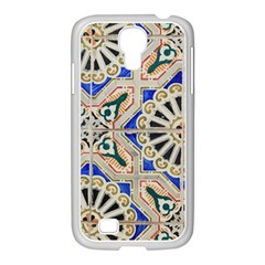 Ceramic Portugal Tiles Wall Samsung Galaxy S4 I9500/ I9505 Case (white)