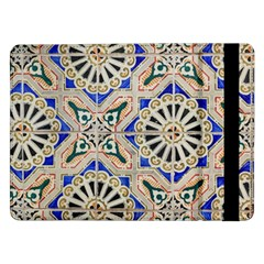 Ceramic Portugal Tiles Wall Samsung Galaxy Tab Pro 12 2  Flip Case