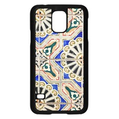 Ceramic Portugal Tiles Wall Samsung Galaxy S5 Case (black)