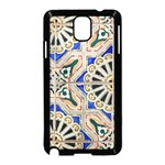 Ceramic Portugal Tiles Wall Samsung Galaxy Note 3 Neo Hardshell Case (Black) Front