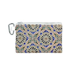 Ceramic Portugal Tiles Wall Canvas Cosmetic Bag (s)