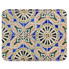 Ceramic Portugal Tiles Wall Double Sided Flano Blanket (medium)