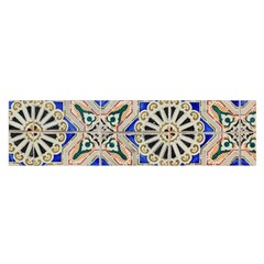 Ceramic Portugal Tiles Wall Satin Scarf (oblong)