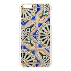 Ceramic Portugal Tiles Wall Apple Seamless iPhone 6 Plus/6S Plus Case (Transparent)