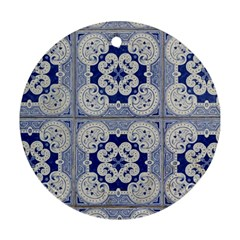 Ceramic Portugal Tiles Wall Ornament (round)
