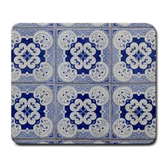 Ceramic Portugal Tiles Wall Large Mousepads
