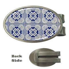 Ceramic Portugal Tiles Wall Money Clips (Oval)
