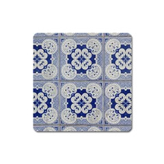 Ceramic Portugal Tiles Wall Square Magnet