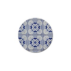 Ceramic Portugal Tiles Wall Golf Ball Marker