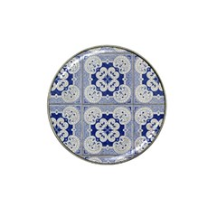 Ceramic Portugal Tiles Wall Hat Clip Ball Marker (10 Pack)