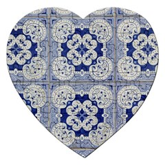 Ceramic Portugal Tiles Wall Jigsaw Puzzle (heart)