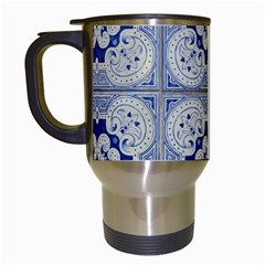 Ceramic Portugal Tiles Wall Travel Mugs (white)