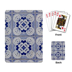 Ceramic Portugal Tiles Wall Playing Card