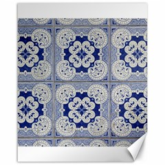 Ceramic Portugal Tiles Wall Canvas 16  X 20