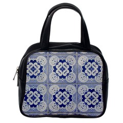 Ceramic Portugal Tiles Wall Classic Handbags (one Side)