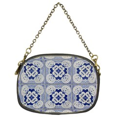 Ceramic Portugal Tiles Wall Chain Purses (one Side)