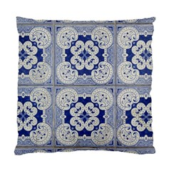 Ceramic Portugal Tiles Wall Standard Cushion Case (two Sides)