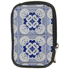 Ceramic Portugal Tiles Wall Compact Camera Cases