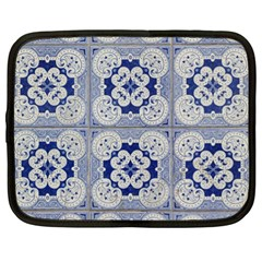Ceramic Portugal Tiles Wall Netbook Case (xl)