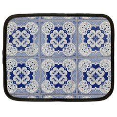 Ceramic Portugal Tiles Wall Netbook Case (xxl)