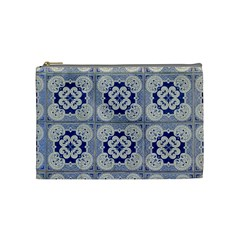 Ceramic Portugal Tiles Wall Cosmetic Bag (Medium)
