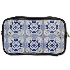 Ceramic Portugal Tiles Wall Toiletries Bags 2 Side