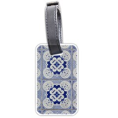 Ceramic Portugal Tiles Wall Luggage Tags (one Side)