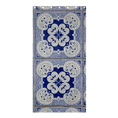 Ceramic Portugal Tiles Wall Shower Curtain 36  X 72  (stall)