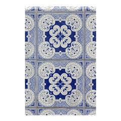 Ceramic Portugal Tiles Wall Shower Curtain 48  X 72  (small)