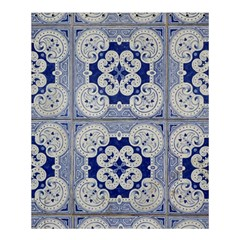 Ceramic Portugal Tiles Wall Shower Curtain 60  X 72  (medium)