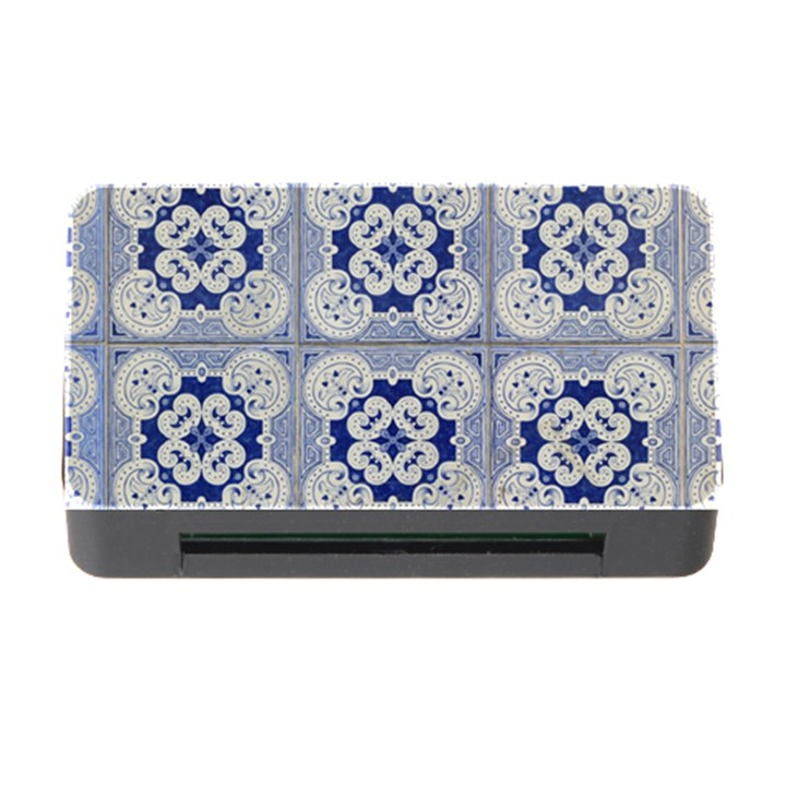 Ceramic Portugal Tiles Wall Memory Card Reader with CF