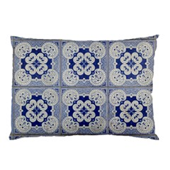 Ceramic Portugal Tiles Wall Pillow Case (two Sides)