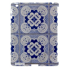 Ceramic Portugal Tiles Wall Apple Ipad 3/4 Hardshell Case (compatible With Smart Cover)