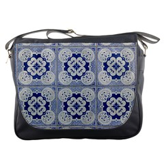 Ceramic Portugal Tiles Wall Messenger Bags