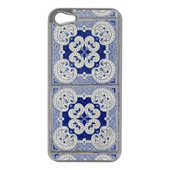 Ceramic Portugal Tiles Wall Apple Iphone 5 Case (silver)