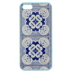 Ceramic Portugal Tiles Wall Apple Seamless Iphone 5 Case (color)