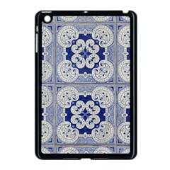 Ceramic Portugal Tiles Wall Apple iPad Mini Case (Black)