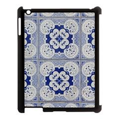 Ceramic Portugal Tiles Wall Apple Ipad 3/4 Case (black)