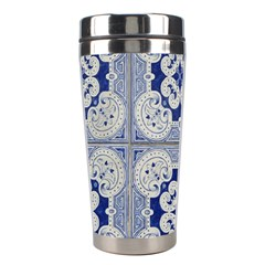 Ceramic Portugal Tiles Wall Stainless Steel Travel Tumblers