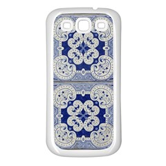Ceramic Portugal Tiles Wall Samsung Galaxy S3 Back Case (white)