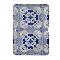 Ceramic Portugal Tiles Wall Samsung Galaxy Tab 2 (10 1 ) P5100 Hardshell Case