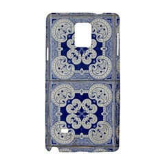 Ceramic Portugal Tiles Wall Samsung Galaxy Note 4 Hardshell Case